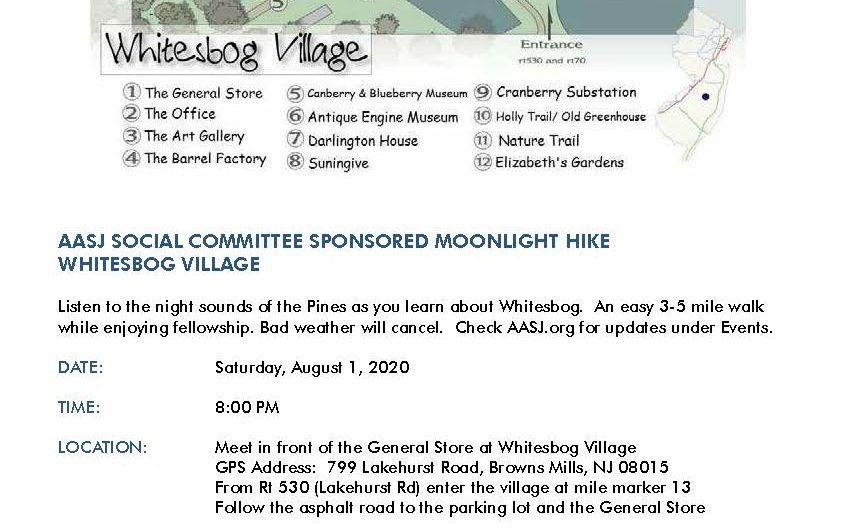 8/1/2020 Whitesbog Moonlight Hike